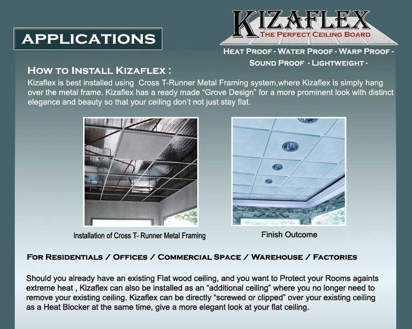 KIZAFLEX--APPLICATION
